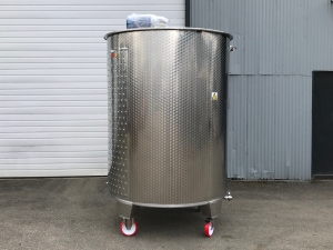 New Stock Letina 1056Gal/4000L Jacketed Mix Tank ON Wheels